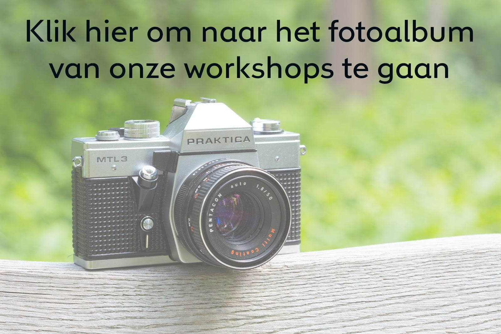 Banner naar smugmug foto album workshops