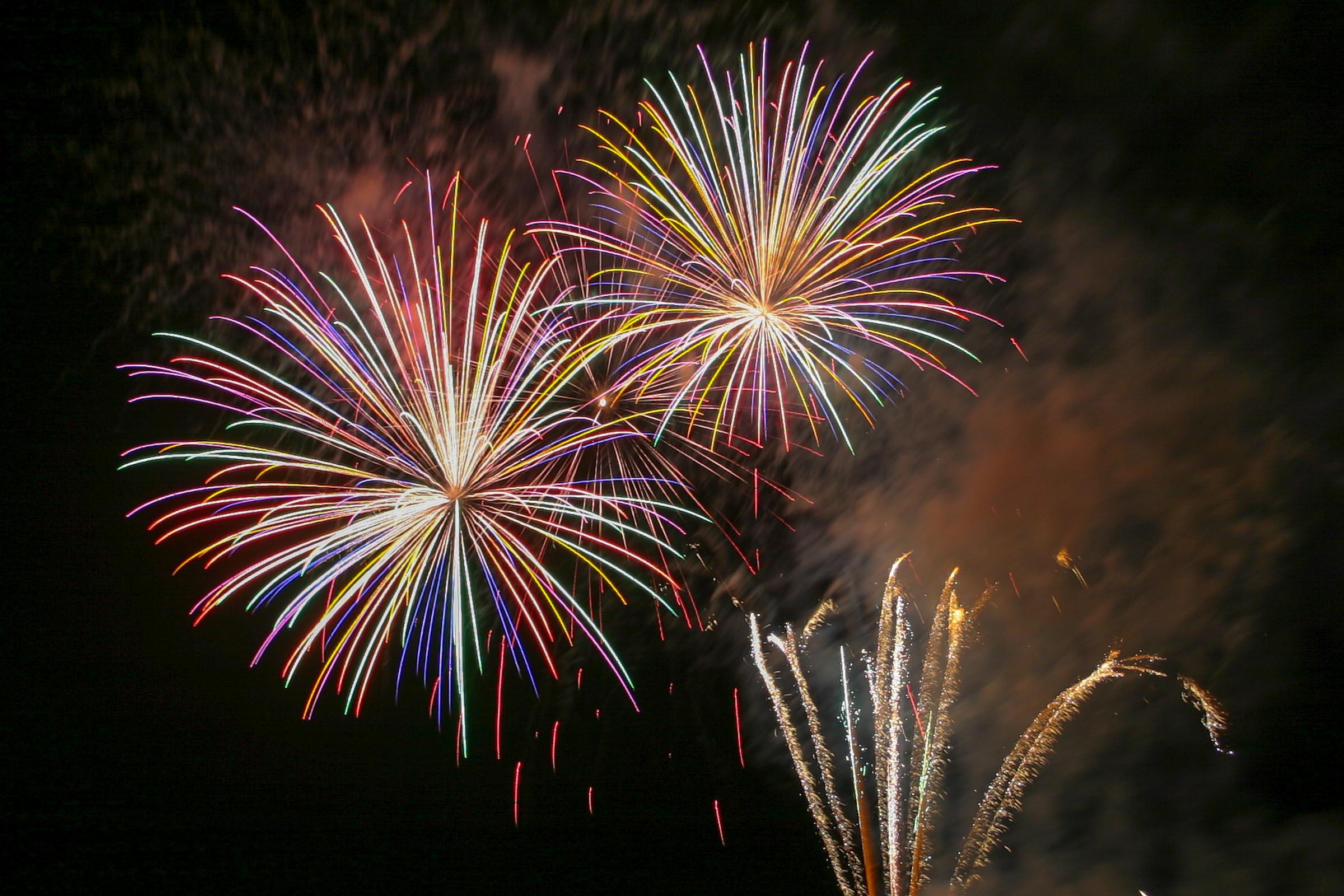 image from Tips voor het maken van goede vuurwerkfoto's