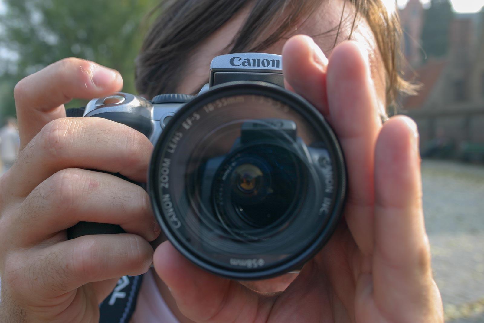 Fotograaf die aan het fotograferen is