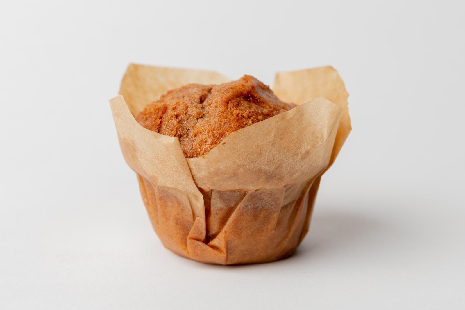 1 cupcake met weinig scherptediepte